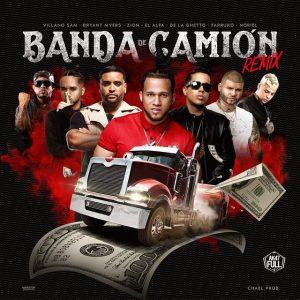 El Alfa Ft. De La Ghetto, Farruko, Bryant Myers, Zion, Noriel y Villanosam – Banda De Camión Remix