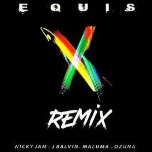 Nicky Jam, J Balvin, Maluma, Ozuna – X (EQUIS) [Remix]