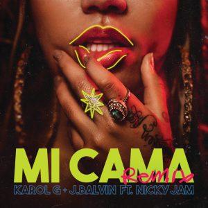 Karol G, J Balvin, Nicky Jam – Mi Cama Remix