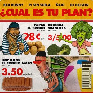Bad Bunny Ft. Ñejo Y PJ Sin Suela – Cual Es Tu Plan