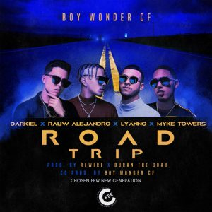 Darkiel Ft. Rauw Alejandro, Lyanno Y Myke Towers – Road Trip