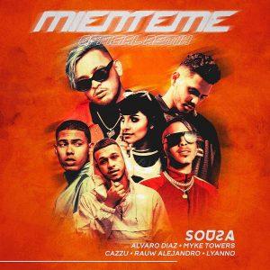 Sousa Ft. Alvaro Diaz, Myke Towers, Rauw Alejandro, Lyanno Y Cazzu – Mienteme Remix