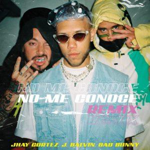 Jhay Cortez Ft. J Balvin Y Bad Bunny – No Me Conoce (Remix)