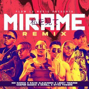Nio Garcia Ft. Lenny Tavarez, Rauw Alejandro, Darell, Myke Towers Y Casper Mágico – Mírame (Remix)